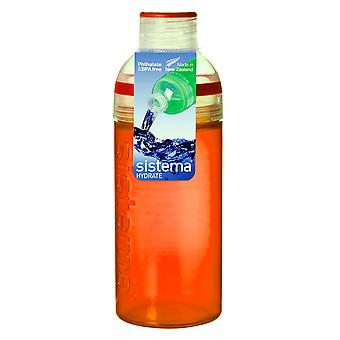 Sistema Trio Drink Bottle 580ml, Orange