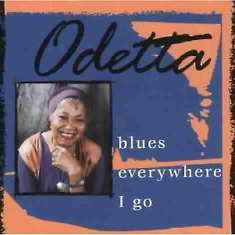 Odetta - Blues overalt jeg Go [CD] USA importerer