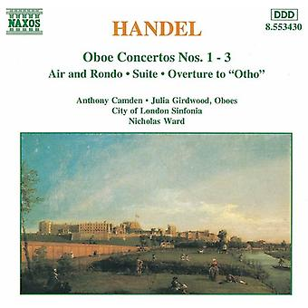 G.F. Handel - Georg Friedrich Händel: Hobo Concertos [CD] USA import