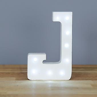LED letter - Yesbox lights Letter J