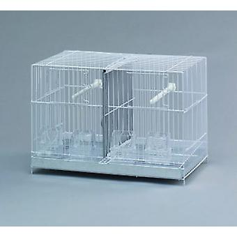 Mgz Alamber Cage 43 with Separation (Birds , Bird Cages , Small Birds)