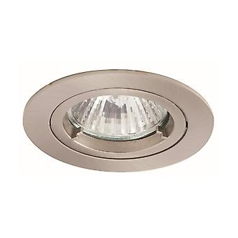 Ansell Twistlock MR16 50W IP44 Die-Cast Downlight 50W MR16 Satin Chrome