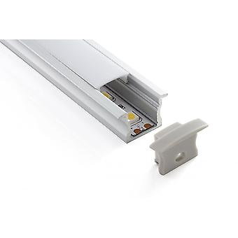 Teucer LED Al2i Recessed / Inset LED Tape Profile
