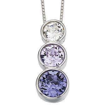 Zirconia argento 925 collana alla moda
