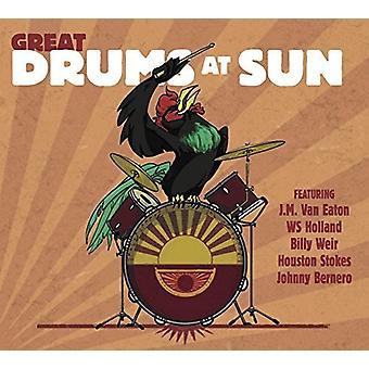Forskellige kunstner - store trommer på solen [CD] USA import