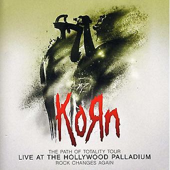 Korn - sökvägen av totalityen Tour-Live på Hollywood Pallad [CD] USA import