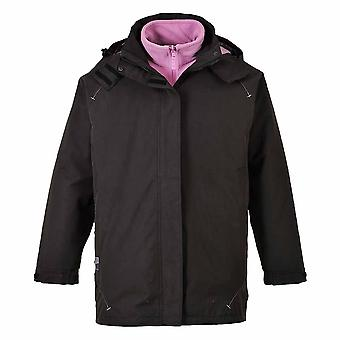 Portwest - Elgin 3 in 1 Ladies Workwear Detachable Fleece Waterproof Jacket