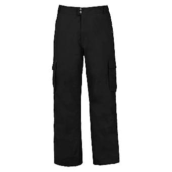 Trespass Youths Boys Dorset Zip Up Waterproof Ski Trousers