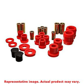 Energy Suspension Control Arm Bushing Set 16.3120R Red Front Fits:HONDA 2000 -