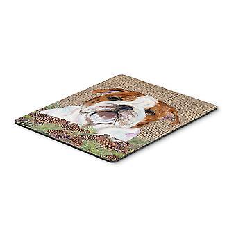 Carolines Treasures  SS4075MP Bulldog English Mouse Pad, Hot Pad or Trivet