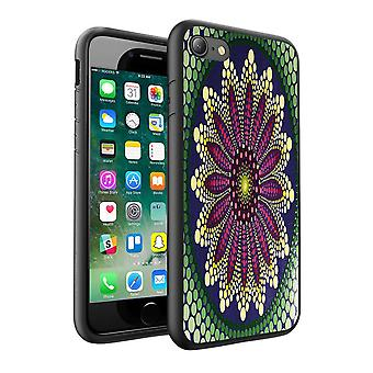 i-Tronixs LG K8 2017 Mandala Colourful Design Printed Case Skin Cover - 075