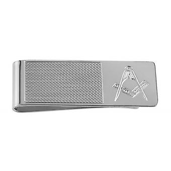 Woodford Masonic Money Clip - Silver