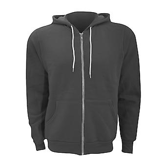 Canvas Unixex Zip-up Polycotton Fleece Hooded Sweatshirt / Hoodie