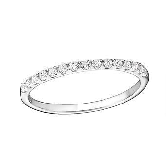 Mousseux - en argent Sterling 925 empierré anneaux