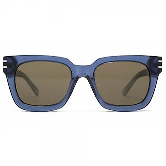 Marc Jacobs Super-Platz Sonnenbrille In Blue Azure