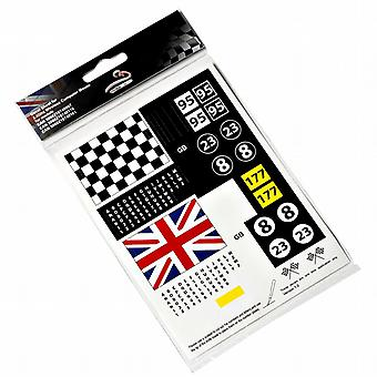 Motormouse Classic Mini Cooper Mouse Decal Sticker Pack