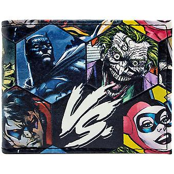 Marvel Villains vs. Heroes Embossed ID & Card Bi-Fold Wallet