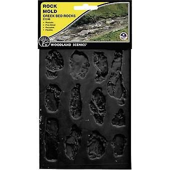 Universal Rubber mould River bed Woodland Scenics