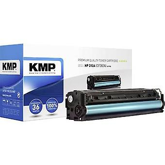 KMP Toner cartridge replaced HP 312A, CF382A Compatible Yellow