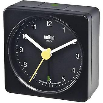 Braun Quartz Alram Clock, Black