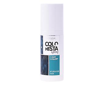 L'oreal Colorista Temporal Spray 7 Turquoise 75ml Womens Sealed Boxed