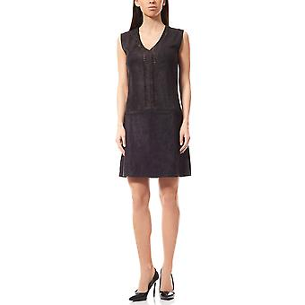 Laura Scott dress faux leather dress black