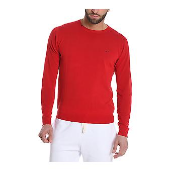 Sun 68 men's K1810110 red cotton Sweatshirt