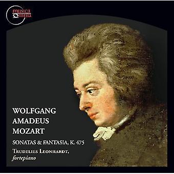 Mozart/Leonhardt - Mozart: Sonater & Fantasia K 475 [CD] USA import