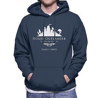 Fortnite Haus Outlander Game Of Thrones mischen Herren Sweatshirt mit Kapuze