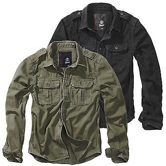 Brandit men's long sleeve shirt vintage