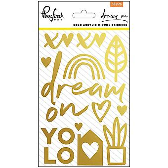 Dream On Acrylic Mirror Stickers 4