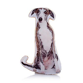 Adorable Greyhound Shaped Midi Cushion