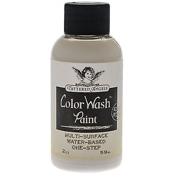 Tattered Angels Color Wash Paint 2Oz-White Wash - Faux Finish