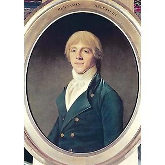 Benjamin Delessert (1773-1847) (oil on.. - Art Canvas