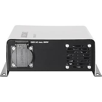 VOLTCRAFT SWD-600/24 Inverter 600 W 24 Vdc - 230 V AC Remote operation