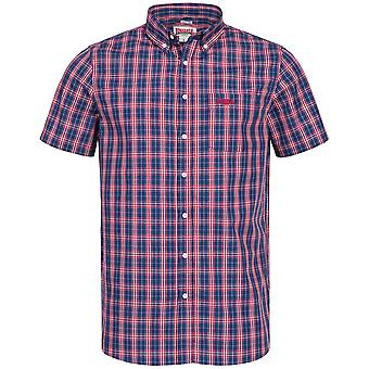 Lonsdale mens short sleeve shirt Brixworth