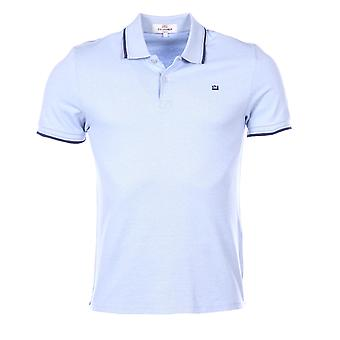 Kort ärm polo Sky blue MC13643 Ben Sherman mannen