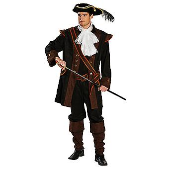 Luxury pirate mens costume noble Seerüber Carnival