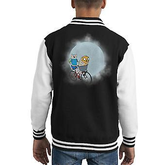 Adventure Time ET Mix Kid's Varsity Jacket
