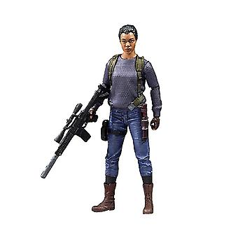 La marche morts action figure de Sasha Williams 5 matériau exclusif : plastique, fabricant : McFarlane.