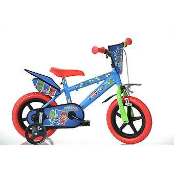 Bicicleta crianças 12inches PJ máscaras Super sono ternos