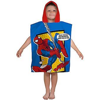 Telo mare Spiderman Spider man Badponcho Poncho 115 * 55 cm