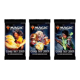Magic The Gathering: Core Set Booster 2019 3-Pack. Card