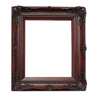 25x30 cm or 10x12 inches, photo frame in red