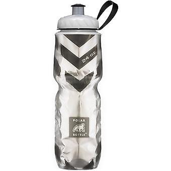 Polar Bottle Sport Insulated 24 oz Water Bottle - Chevron/Black