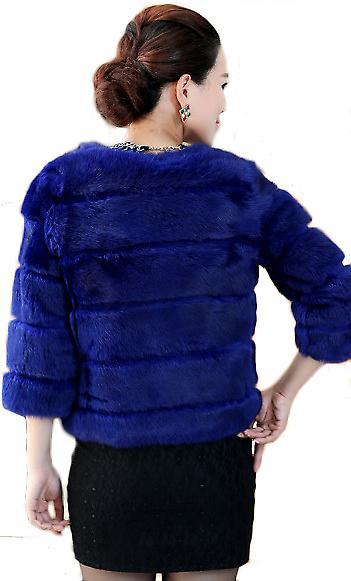 Waooh - Fashion - jacket rabbit fur