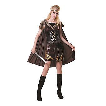 Mittelalterliche Krieger Lady Brown