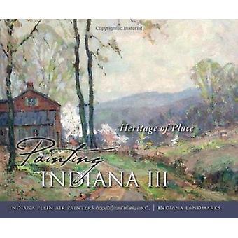 絵画インディアナ インディアナの戸外の画家の場所の遺産 III-