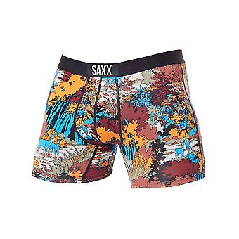 Saxx Red Deep Woods Vibe Boxer Shorts
