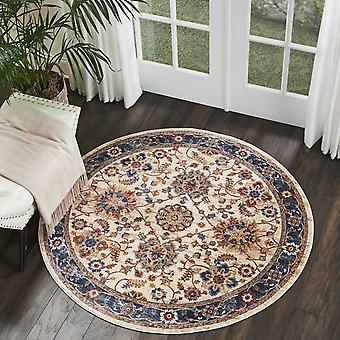Lagos Circular Rugs By Nourison Lag04 In Cream